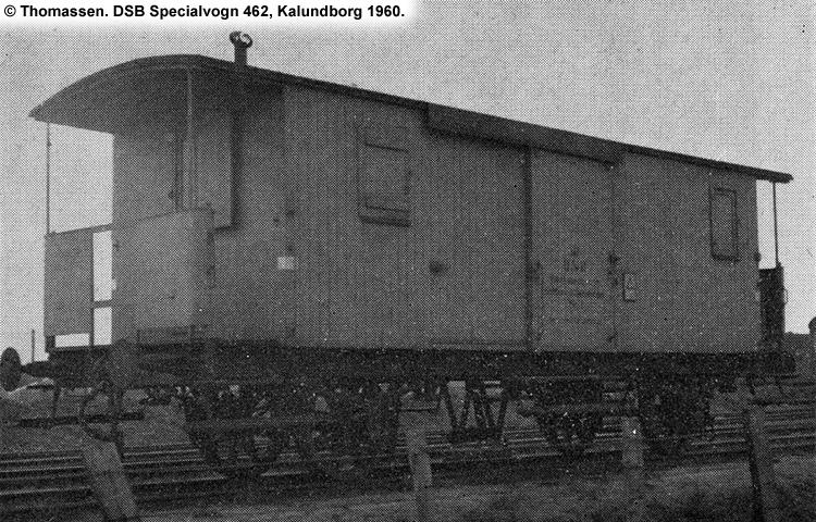 DSB Specialvogn 462<br>Værkstedsvogn for Maskintjenesten