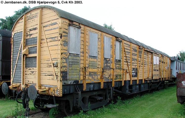DSB Specialvogn 5<br>Hjælpevogn