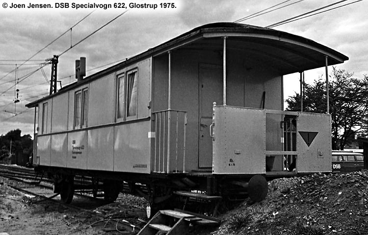 DSB Specialvogn 622<br>Værkstedsvogn for Sikringsanlægskolonne