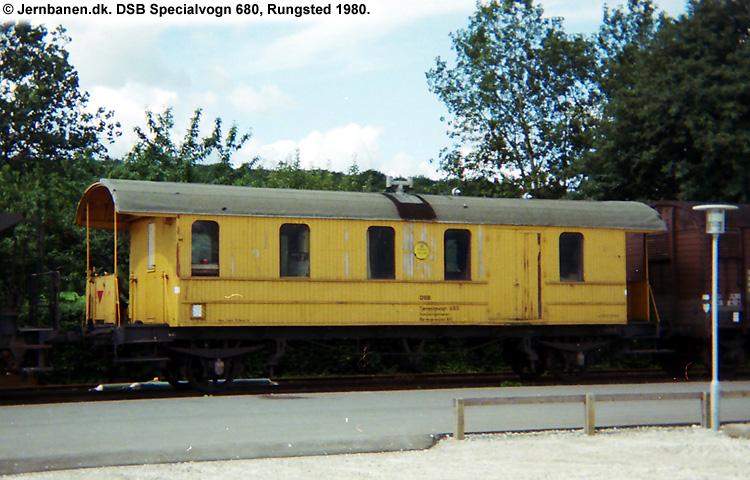 DSB Specialvogn 680<br>Svejsevogn