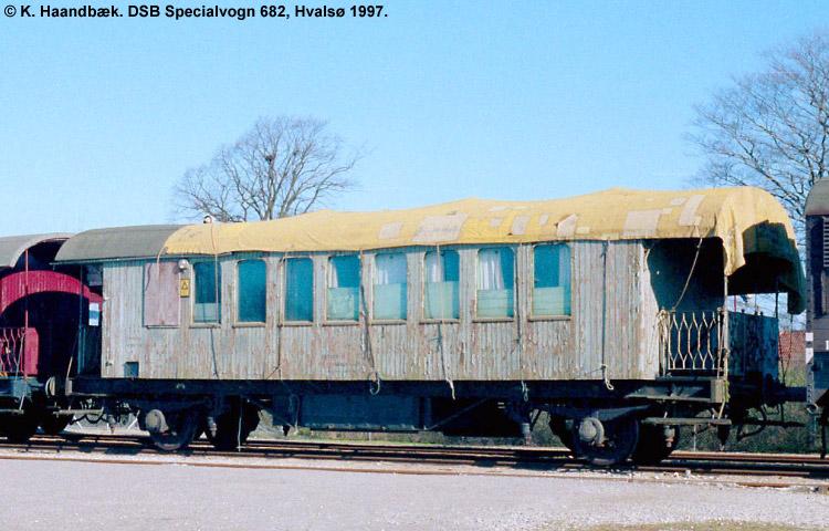 DSB Specialvogn 682<br>Svejsevogn