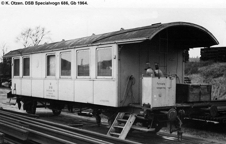 DSB Specialvogn 686<br>Svejsevogn