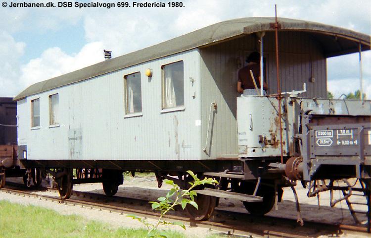 DSB Specialvogn 699<br>Svejsevogn
