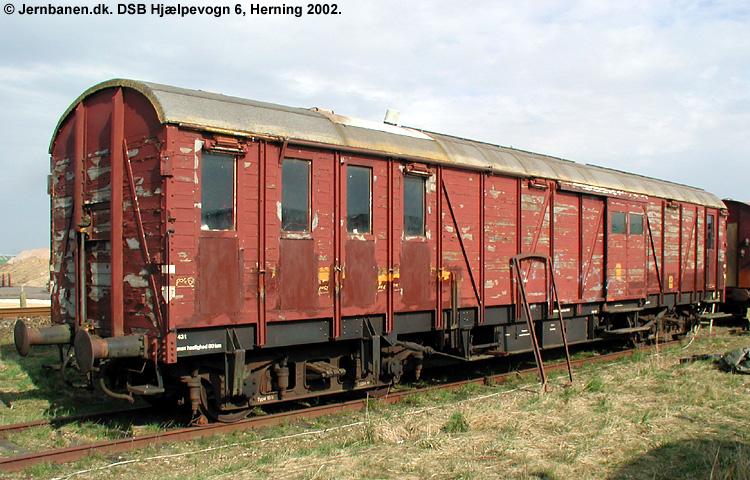 DSB Specialvogn 6<br>Hjælpevogn