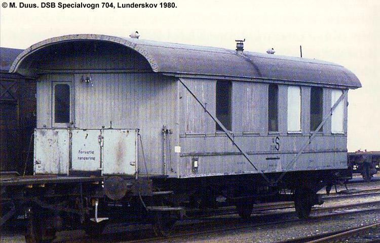 DSB Specialvogn 704<br>Svejsevogn