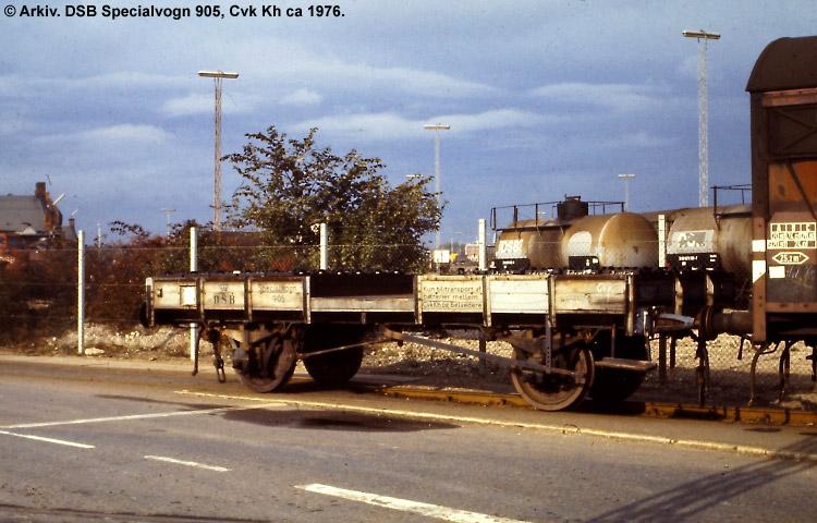 DSB Specialvogn 905<br>Transportvogn for batterier