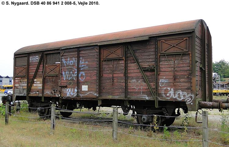 DSB tjenestevogn 40 86 941 2008 - 5
