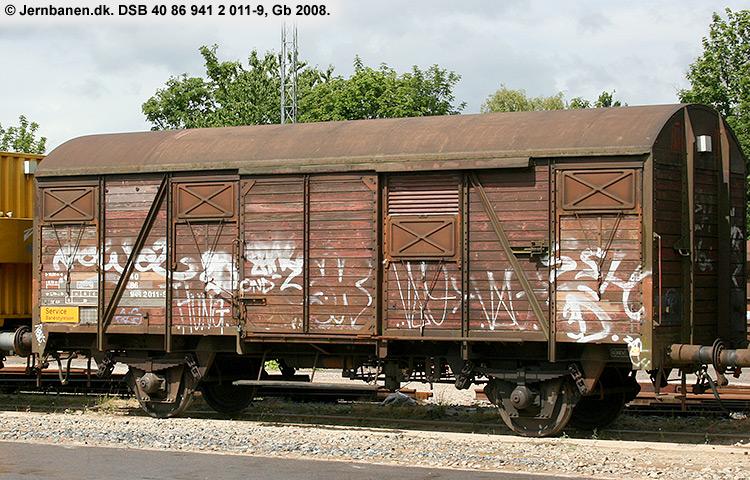 DSB Tjenestevogn 40 86 941 2011 - 9