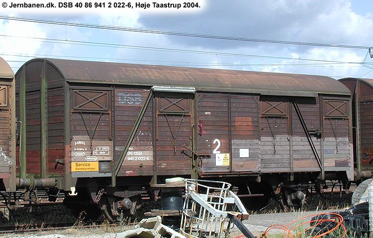 DSB tjenestevogn 40 86 941 2022 - 6