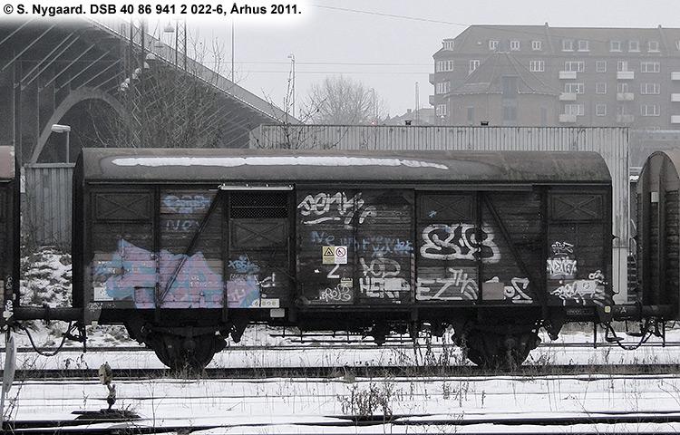 DSB tjenestevogn 40 86 941 2022-6