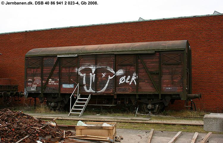 DSB tjenestevogn 40 86 941 2023 - 4
