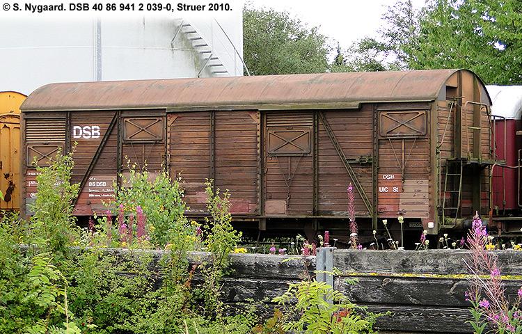 DSB tjenestevogn 40 86 941 2039-0