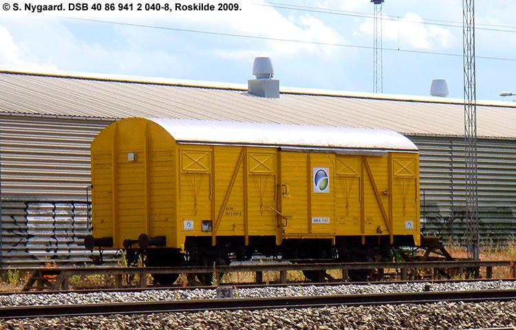 DSB tjenestevogn 40 86 941 2040 - 8