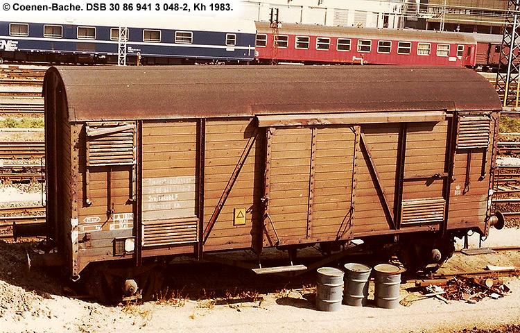 DSB tjenestevogn 30 86 941 3048 - 2