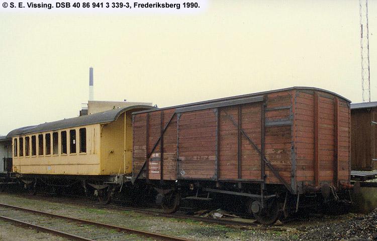 DSB tjenestevogn 30 86 941 3339 - 5