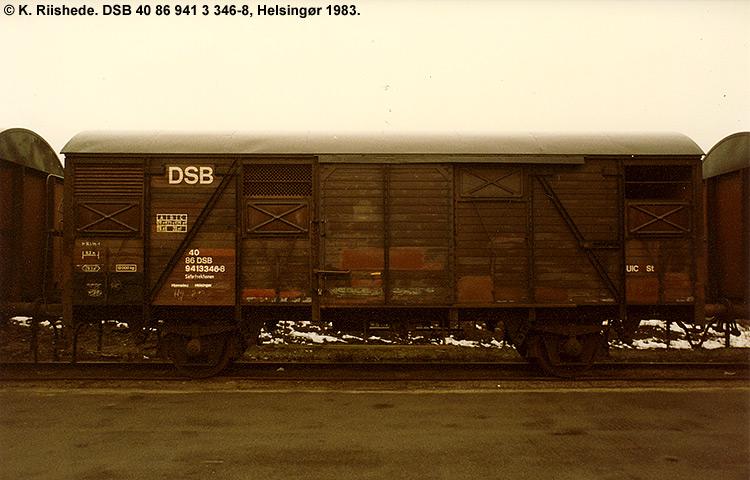 DSB tjenestevogn 30 86 941 3346 - 0