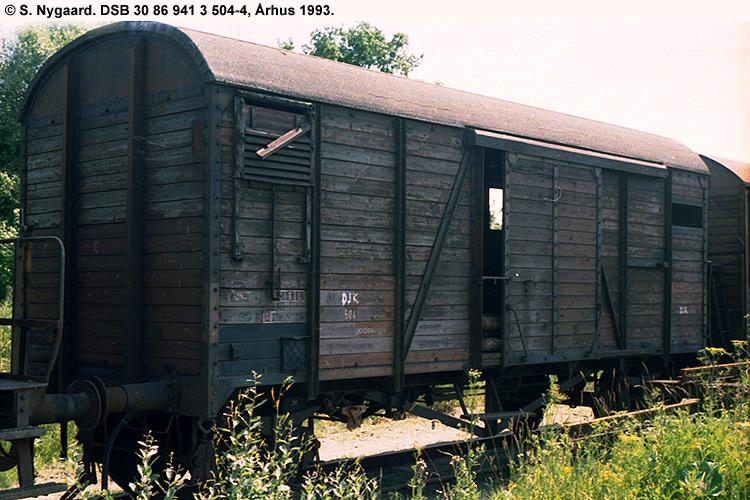 DSB tjenestevogn 30 86 941 3504 - 4