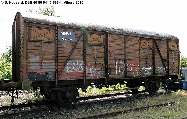 DSB tjenestevogn 40 86 941 3555-4