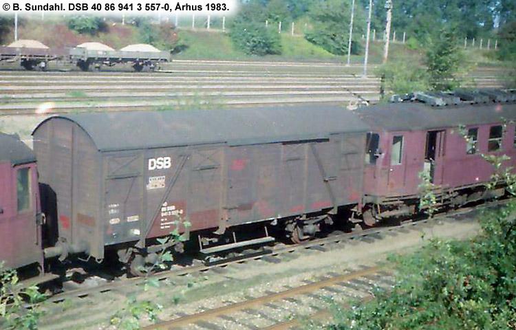 DSB Tjenestevogn 40 86 941 3557 - 0