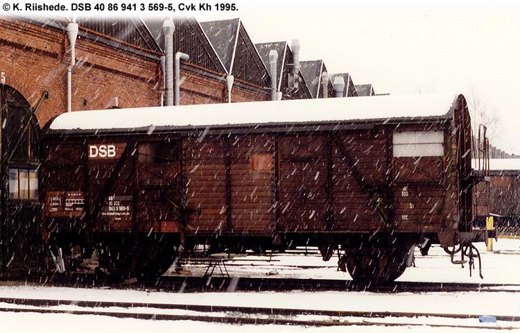 DSB tjenestevogn 40 86 941 3569-5