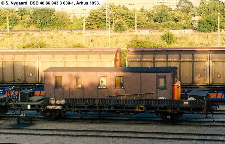DSB tjenestevogn 40 86 943 3630 - 1