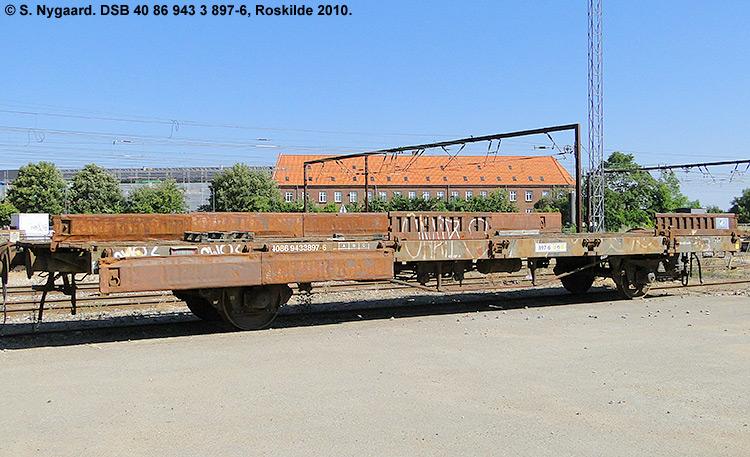 DSB tjenestevogn 40 86 943 3897 - 6
