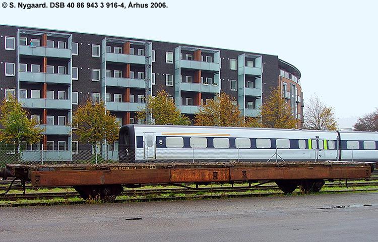 DSB tjenestevogn 40 86 943 3916-4