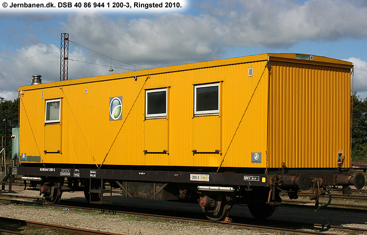 DSB tjenestevogn 40 86 944 1200 - 3