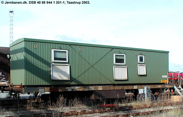 DSB tjenestevogn 40 86 944 1201 - 1
