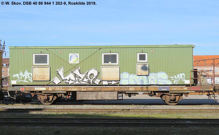 DSB Tjenestevogn 40 86 944 1202 - 9