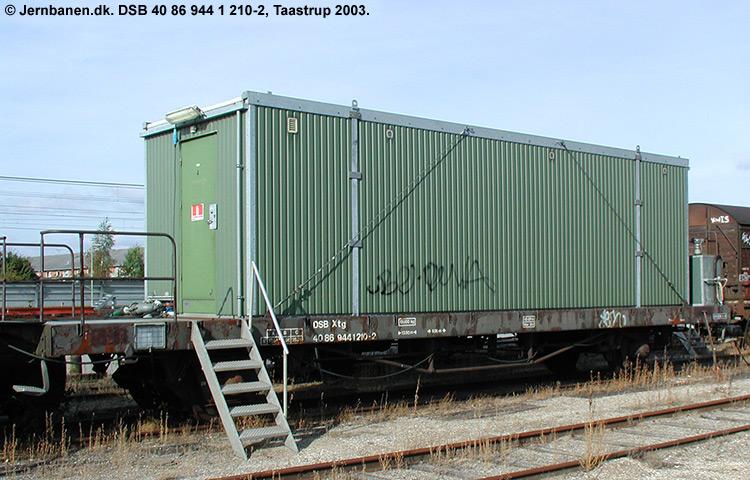 DSB Tjenestevogn 40 86 944 1210 - 2