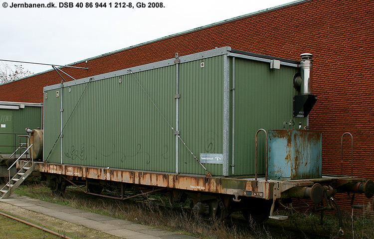 DSB tjenestevogn 40 86 944 1212 - 8