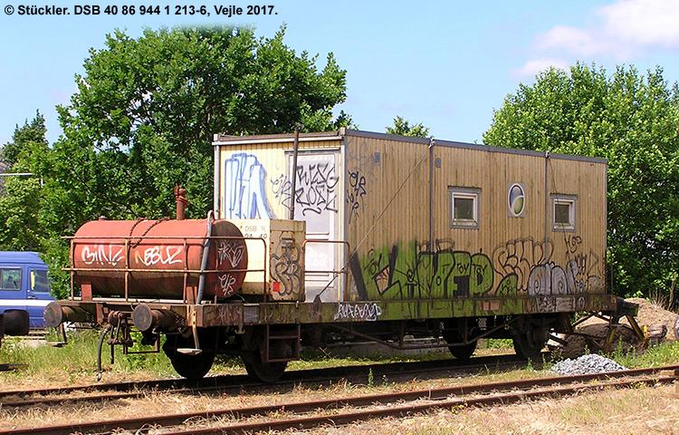 DSB tjenestevogn 40 86 944 1213 - 6