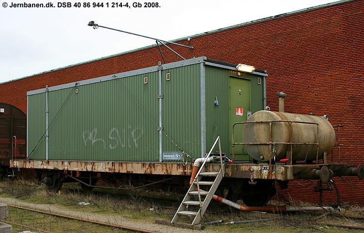 DSB tjenestevogn 40 86 944 1214 - 4