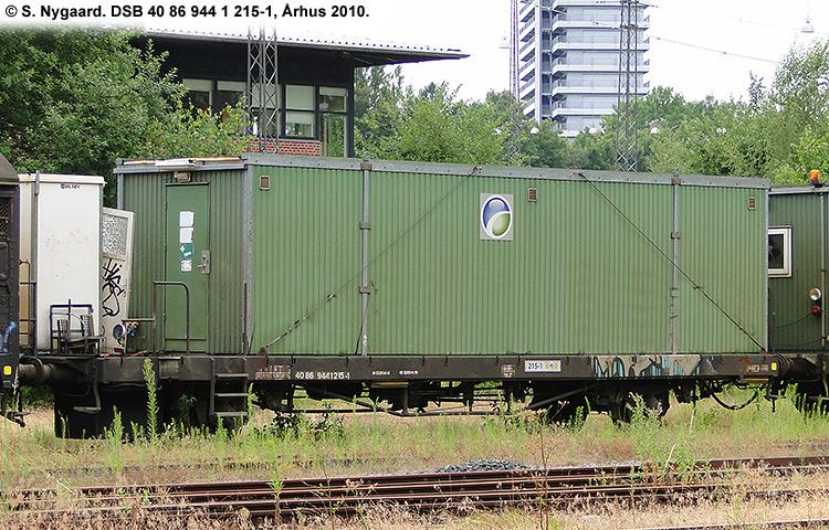 DSB tjenestevogn 40 86 944 1215 - 1