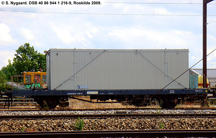 DSB tjenestevogn 40 86 944 1216 - 9