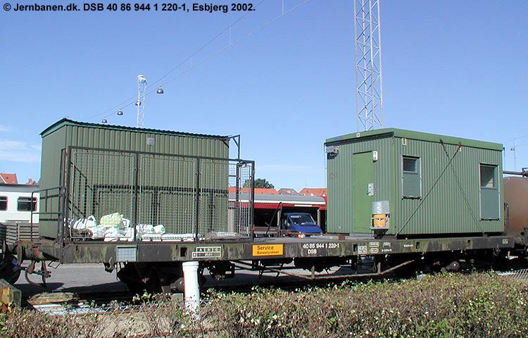 DSB tjenestevogn 40 86 944 1220 - 1