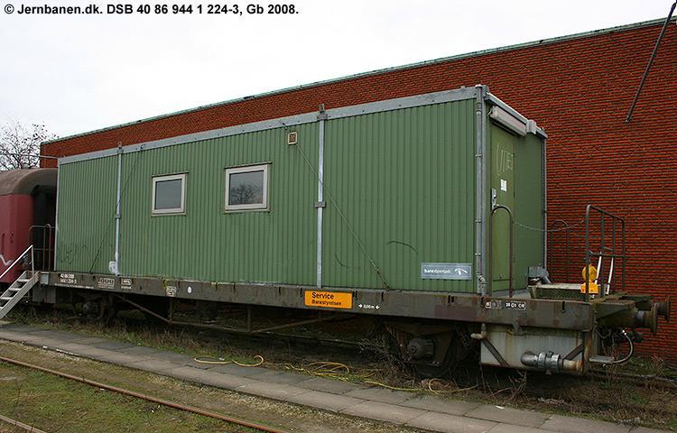 DSB tjenestevogn 40 86 944 1224 - 3