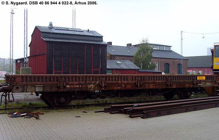 DSB tjenestevogn 40 86 944 4022 - 8
