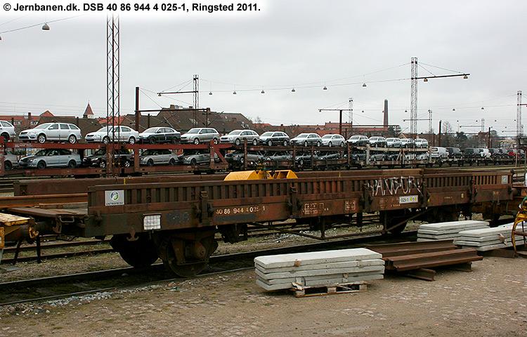 DSB tjenestevogn 40 86 944 4025 - 1