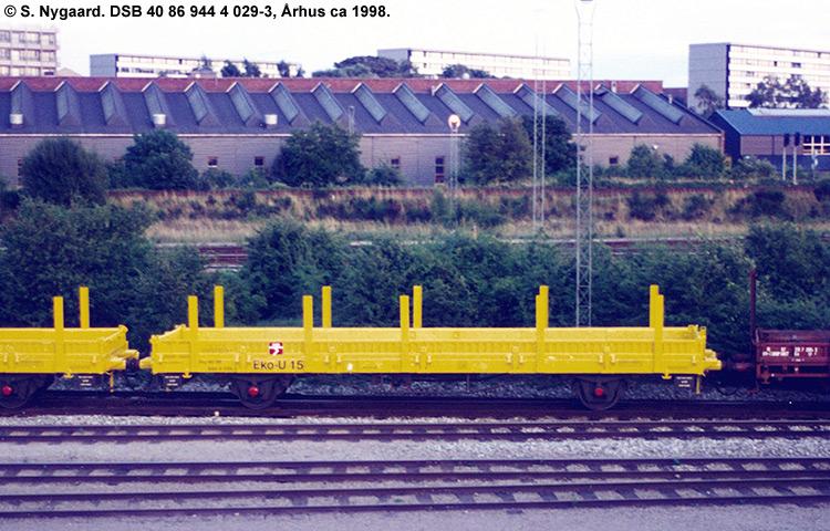 DSB tjenestevogn 40 86 944 4029 - 3