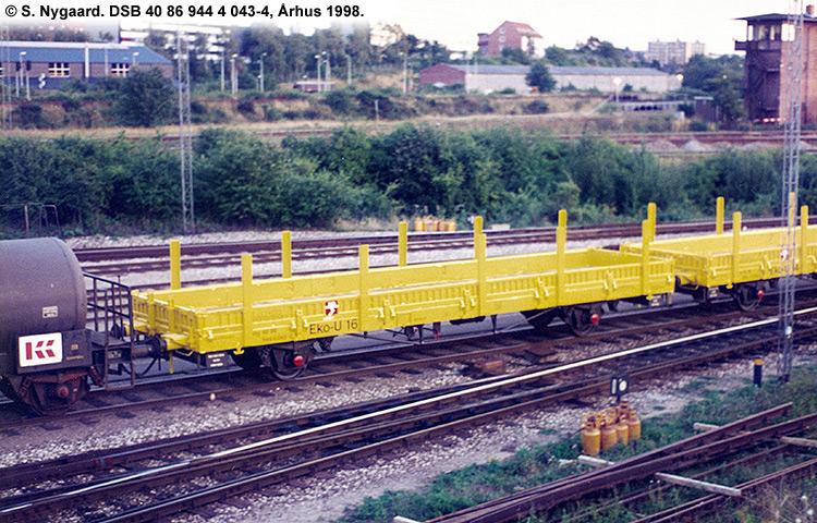 DSB tjenestevogn 40 86 944 4043 - 4