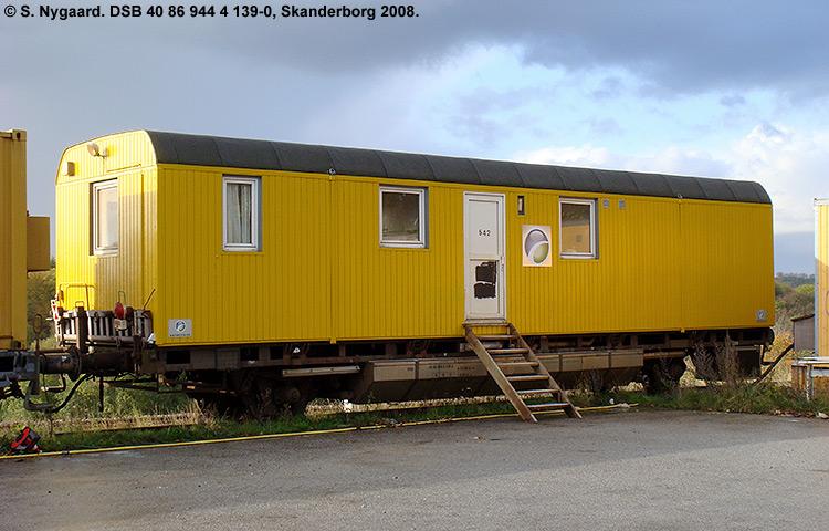 DSB tjenestevogn 40 86 944 4139-0