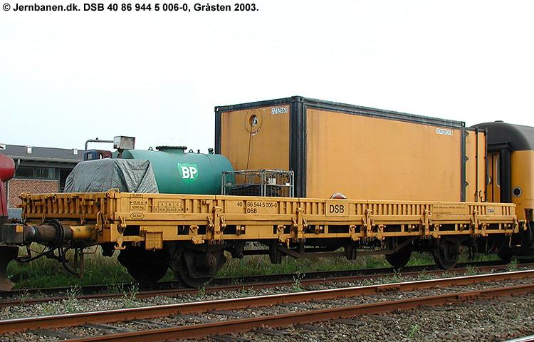 DSB tjenestevogn 40 86 944 5006 - 0