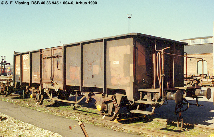 DSB tjenestevogn 40 86 945 1004 - 6