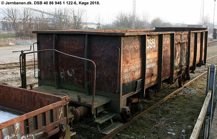 DSB tjenestevogn 40 86 945 1122 - 6