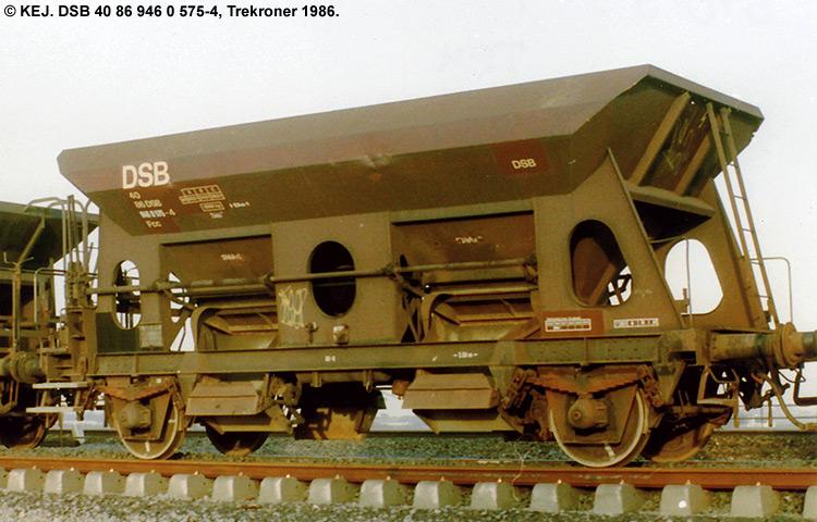 DSB tjenestevogn 30 86 946 0575-6