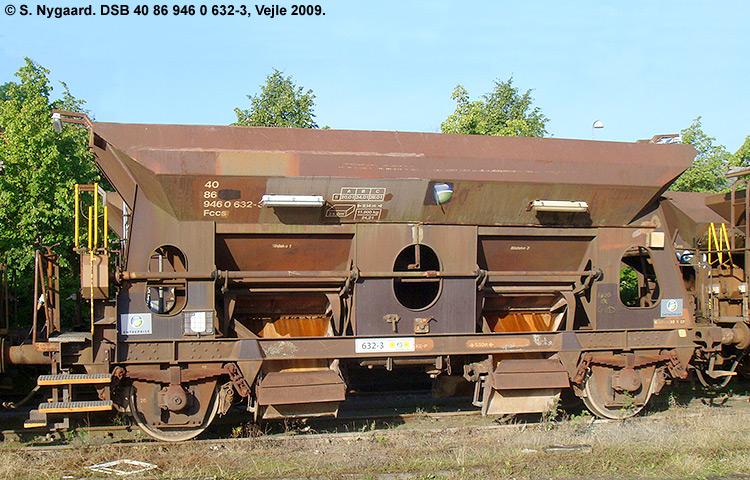 DSB tjenestevogn 30 86 946 0632-5