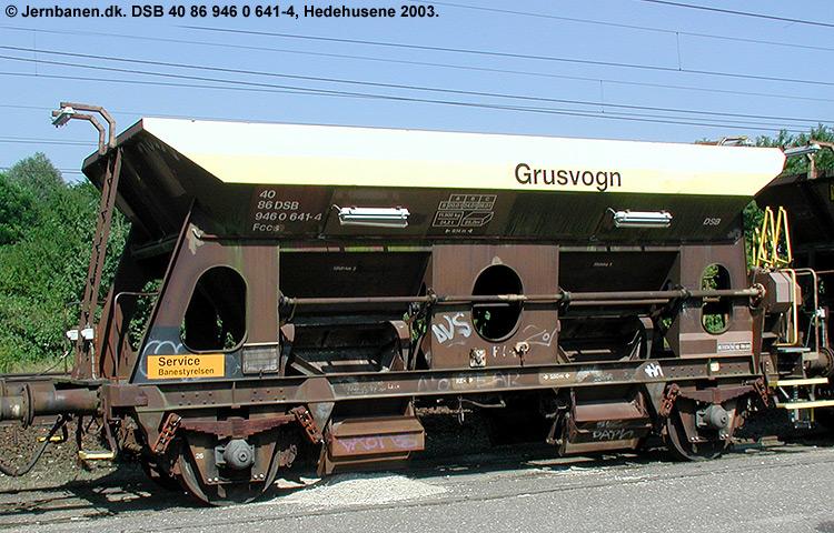 DSB tjenestevogn 30 86 946 0641 - 6