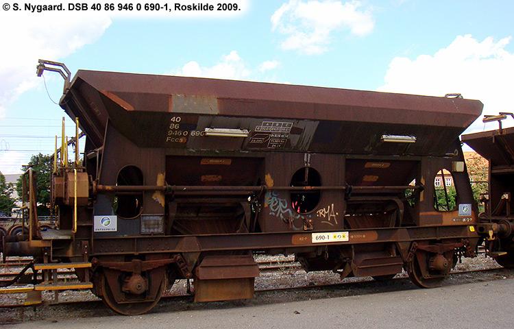 DSB tjenestevogn 30 86 946 0690-3